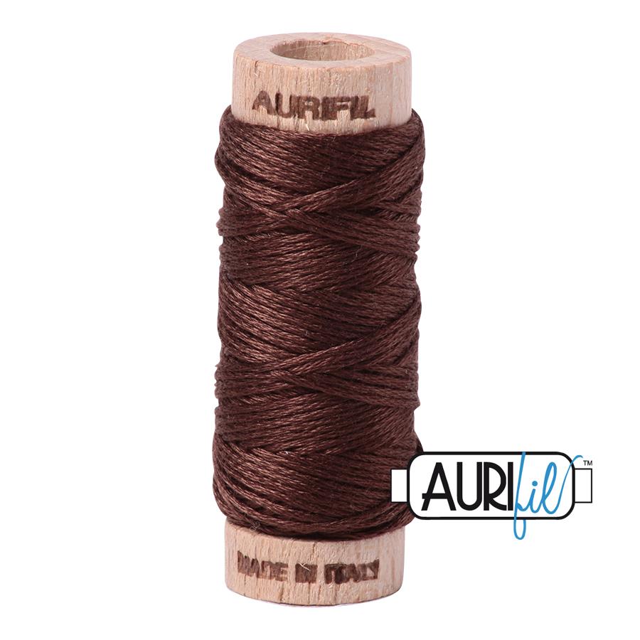 Aurifil Cotton Embroidery Floss, 1285 Medium Bark