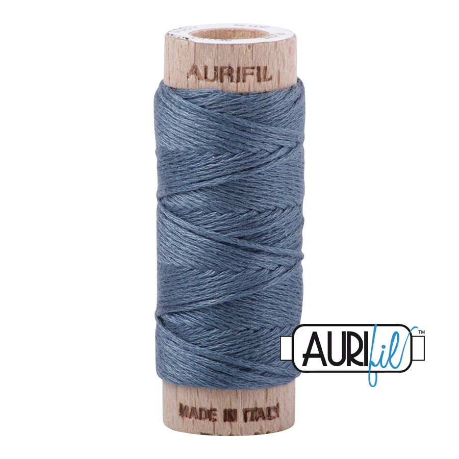 Aurifil Cotton Embroidery Floss, 1310 Medium Blue Grey