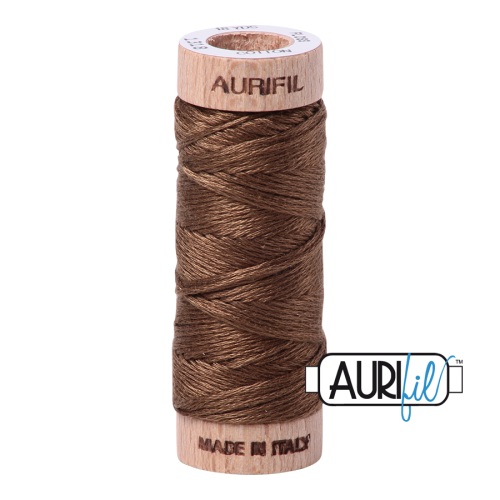 Aurifil Cotton Embroidery Floss, 1318 Dark Sandstone