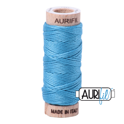 Aurifil Cotton Embroidery Floss, 1320 Bright Teal