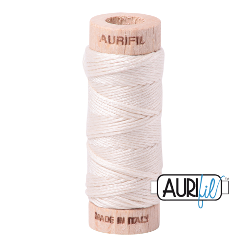 Aurifil Cotton Embroidery Floss, 2000 Light Sand