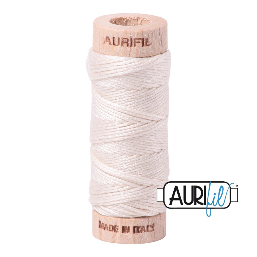 Aurifil Cotton Embroidery Floss, 2000 Light Sand