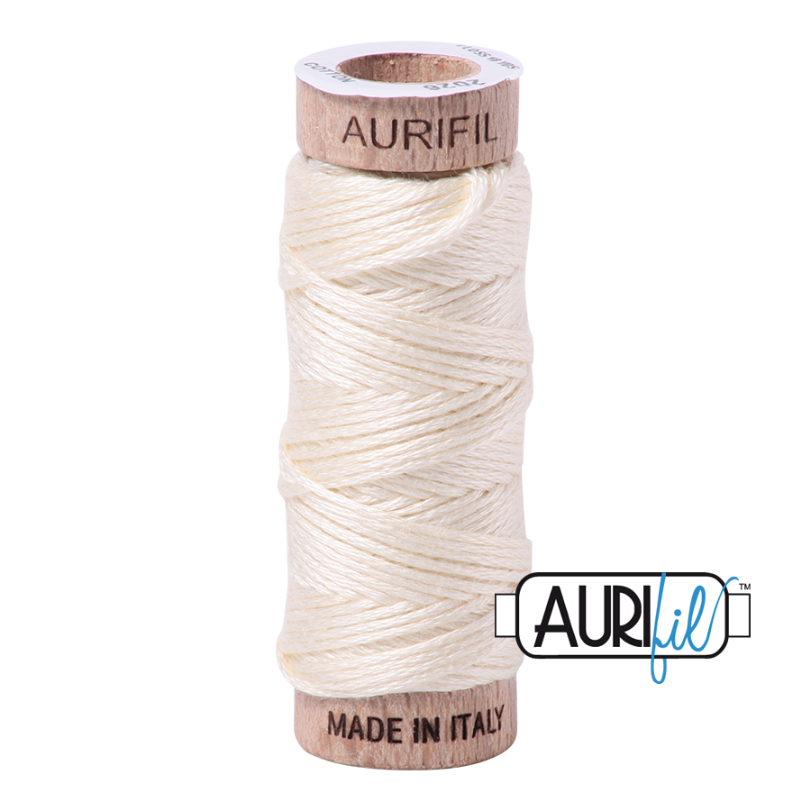 Aurifil Cotton Embroidery Floss, 2026 Chalk