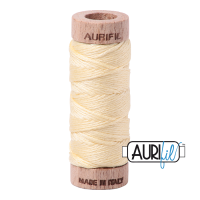 Aurifil Cotton Embroidery Floss, 2110 Light Lemon