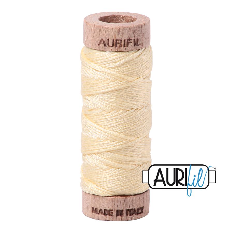Aurifil Cotton Embroidery Floss, 2110 Light Lemon