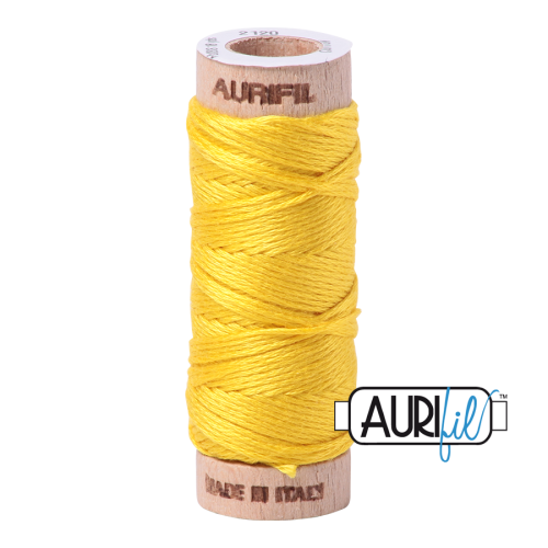 Aurifil Cotton Embroidery Floss, 2120 Canary