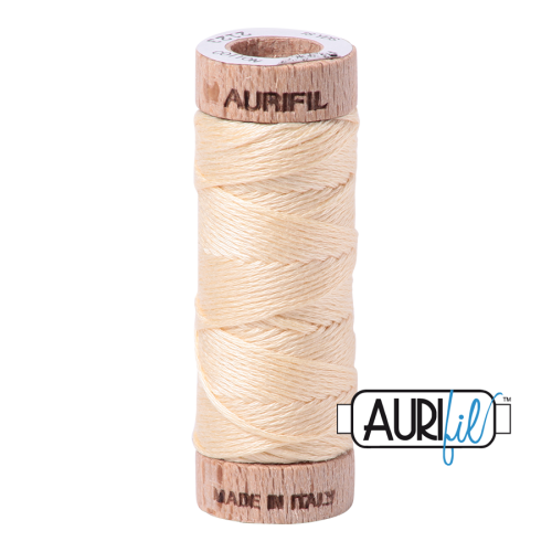 Aurifil Cotton Embroidery Floss, 2123 Butter