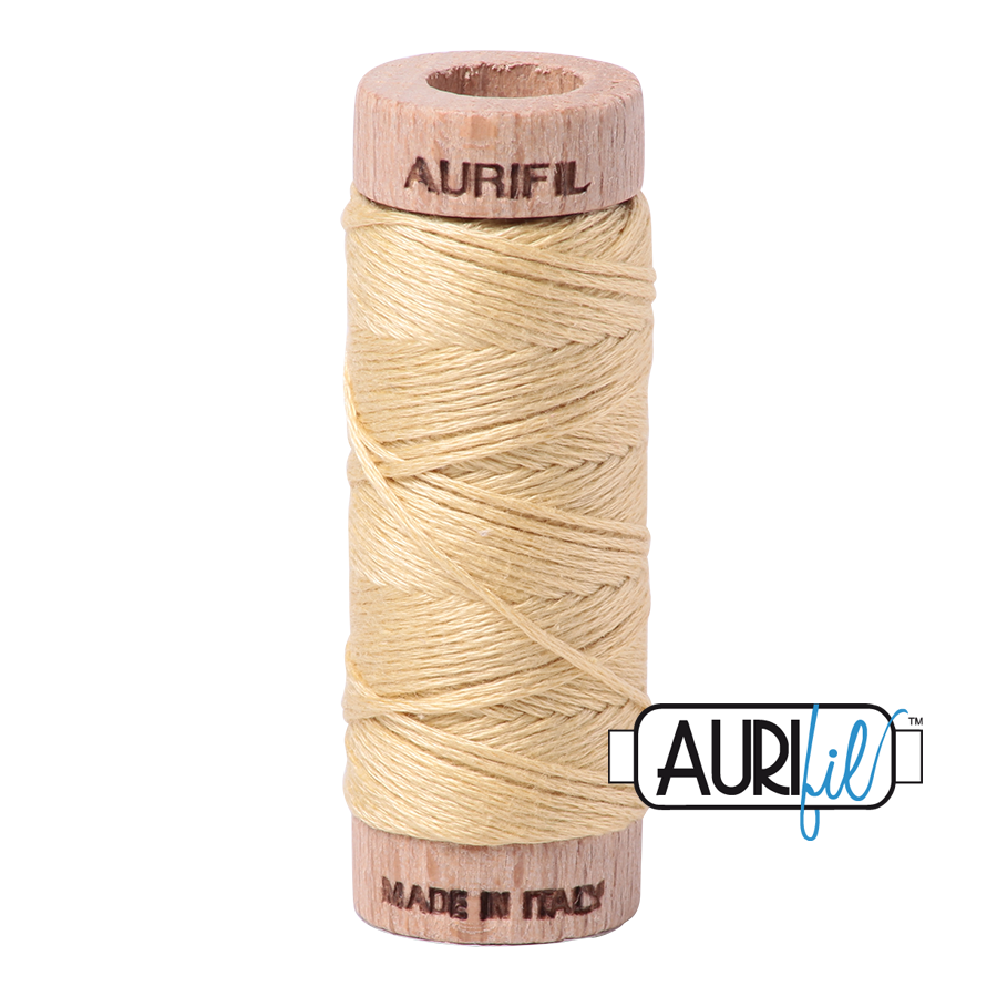 Aurifil Cotton Embroidery Floss, 2125 Wheat
