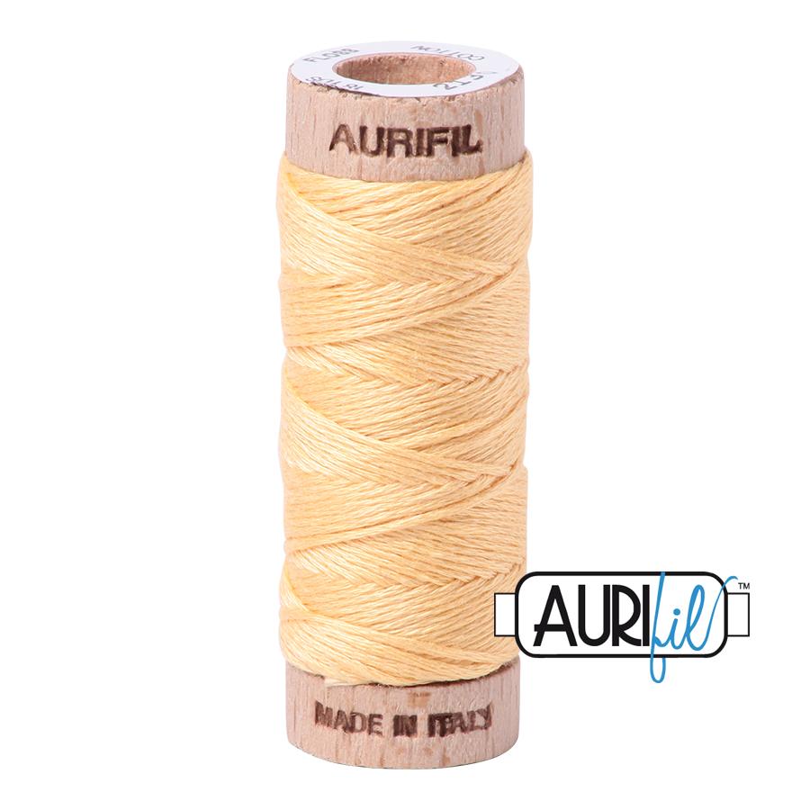 Aurifil Cotton Embroidery Floss, 2130 Medium Butter