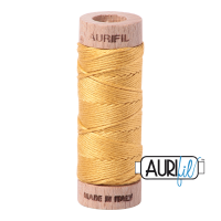Aurifil Cotton Embroidery Floss, 2134 Spun Gold