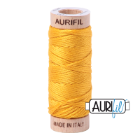 Aurifil Cotton Embroidery Floss, 2135 Yellow