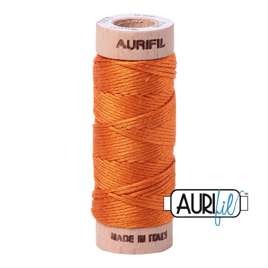 Aurifil Cotton Embroidery Floss, 2150 Pumpkin