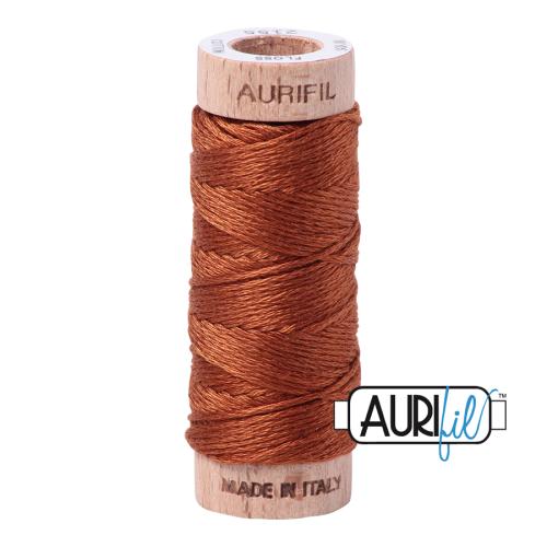 Aurifil Cotton Embroidery Floss, 2155 Cinnamon