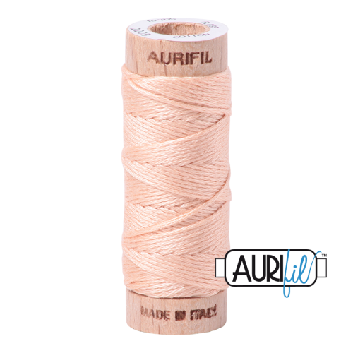 Aurifil Cotton Embroidery Floss, 2205 Apricot