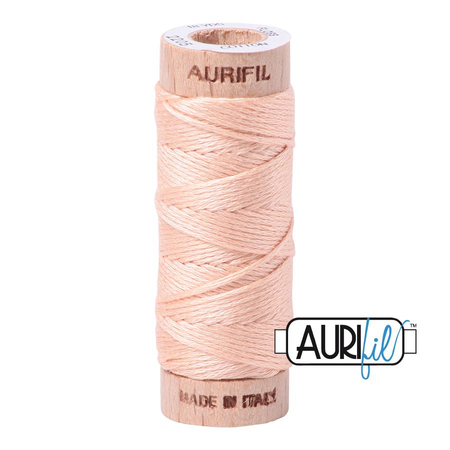 Aurifil Cotton Embroidery Floss, 2205 Flesh