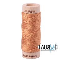 Aurifil Cotton Embroidery Floss, 2210 Caramel