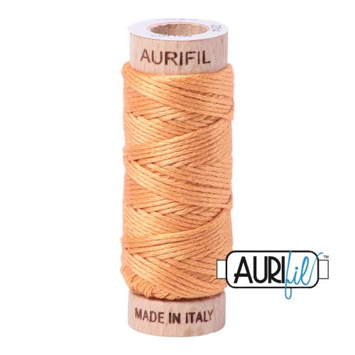 Aurifil Cotton Embroidery Floss, 2214 Golden Honey