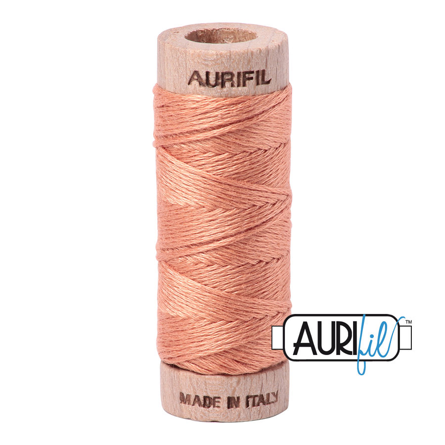 Aurifil Cotton Embroidery Floss, 2215 Peach