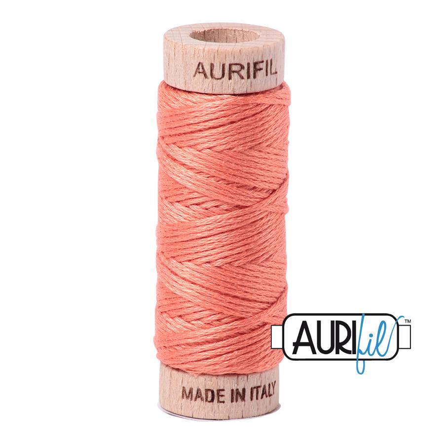 Aurifil Cotton Embroidery Floss, 2220 Light Salmon