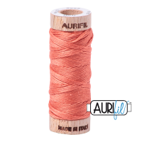 Aurifil Cotton Embroidery Floss, 2225 Salmon