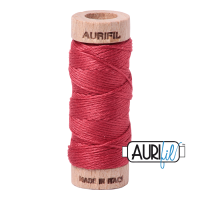 Aurifil Cotton Embroidery Floss, 2230 Red Peony
