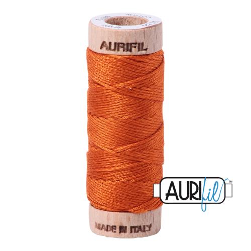 Aurifil Cotton Embroidery Floss, 2235 Orange