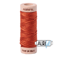 Aurifil Cotton Embroidery Floss, 2240 Rusty Orange