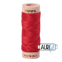 Aurifil Cotton Embroidery Floss, 2265 Lobster Red