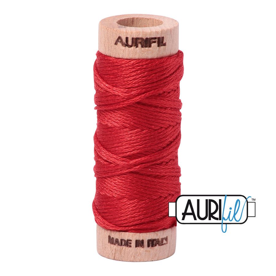 Aurifil Cotton Embroidery Floss, 2270 Paprika