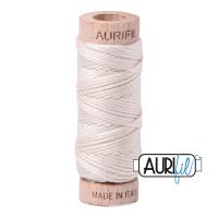 Aurifil Cotton Embroidery Floss, 2309 Silver White