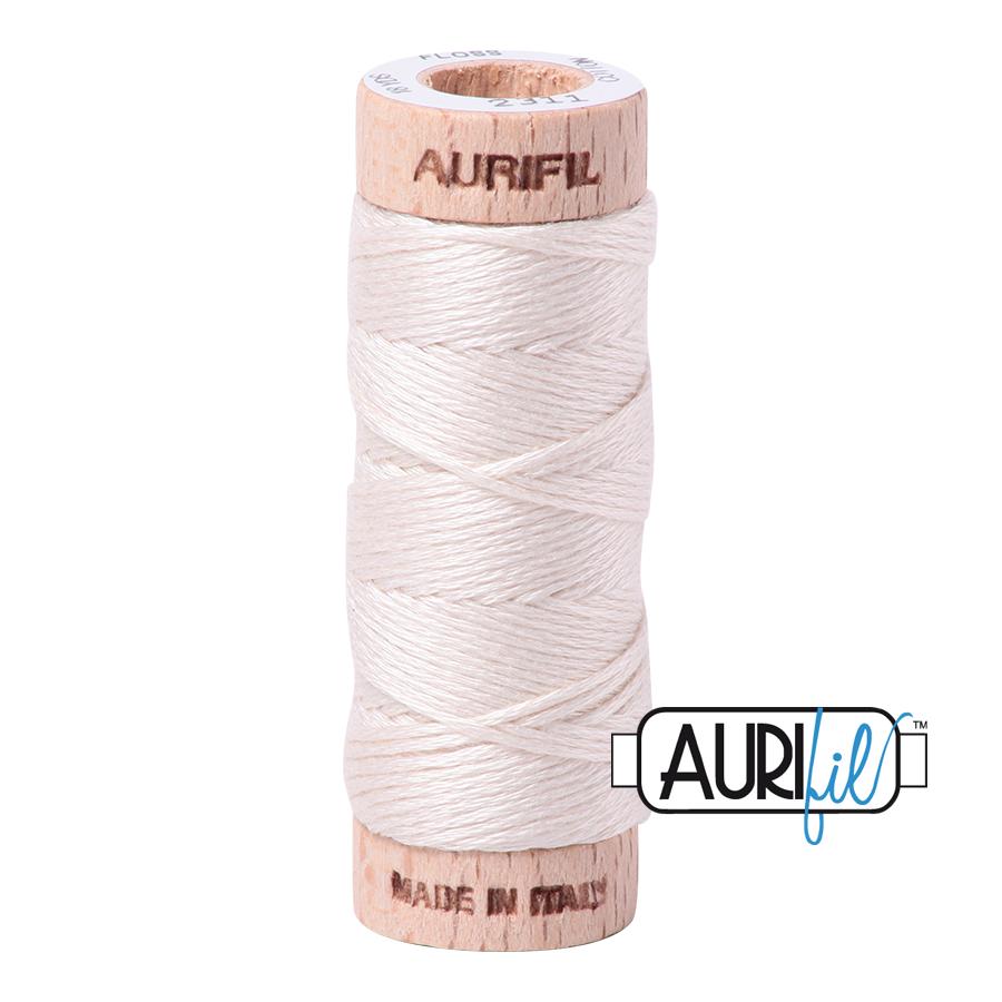 Aurifil Cotton Embroidery Floss, 2311 Muslin