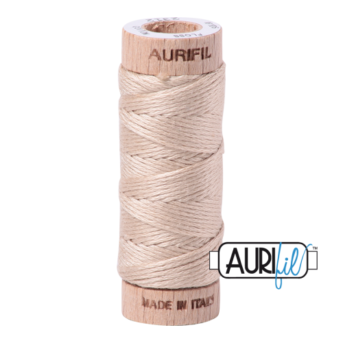 Aurifil Cotton Embroidery Floss, 2312 Ermine