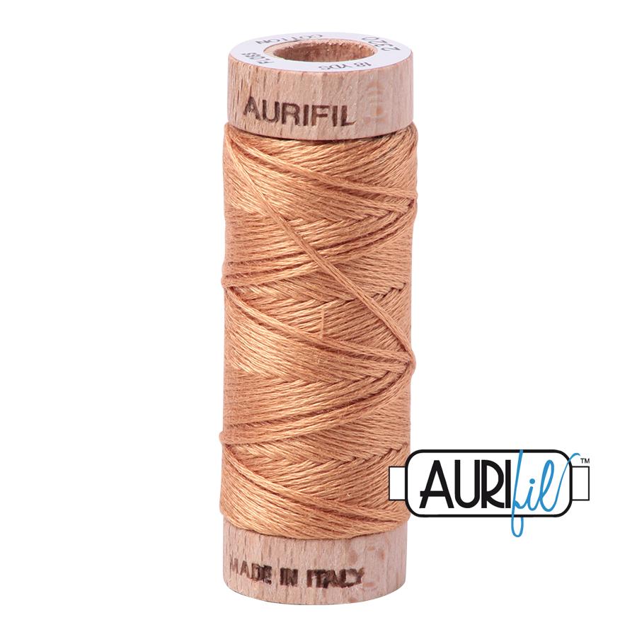 Aurifil Cotton Embroidery Floss, 2320 Light Toast