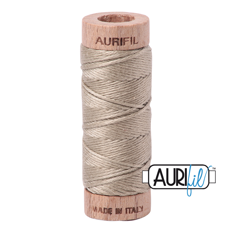 Aurifil Cotton Embroidery Floss, 2324 Stone