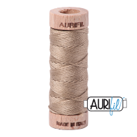 Aurifil Cotton Embroidery Floss, 2325 Linen