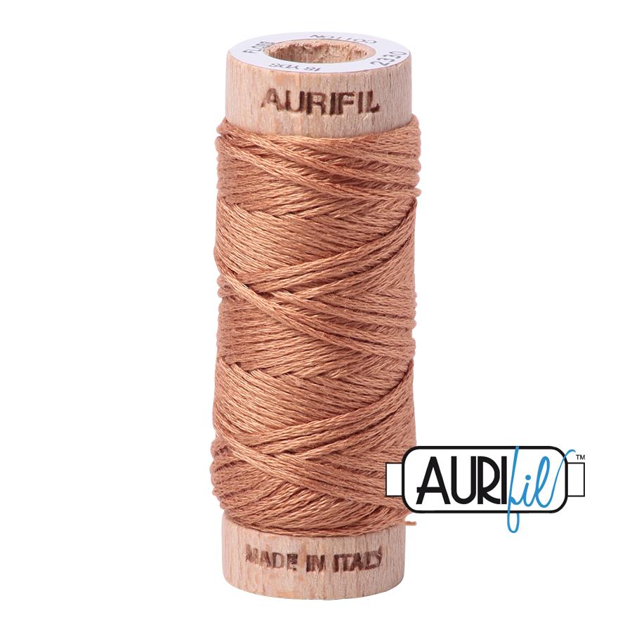 Aurifil Cotton Embroidery Floss, 2330 Light Chestnut