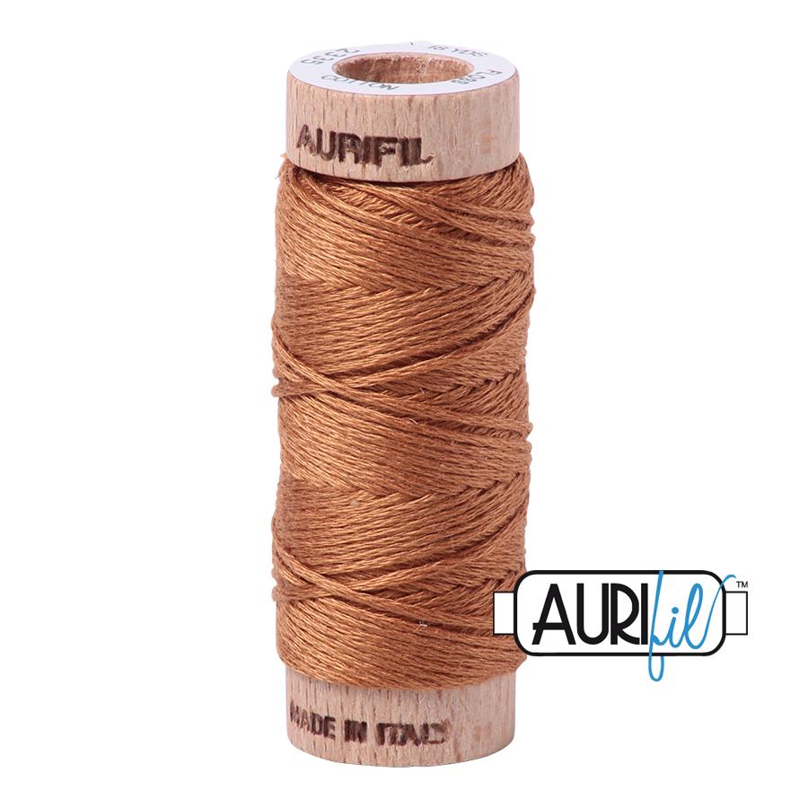 Aurifil Cotton Embroidery Floss, 2335 Light Cinnamon