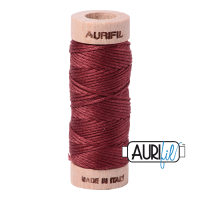 Aurifil Cotton Embroidery Floss, 2345 Raisin