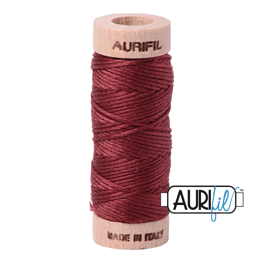 Aurifil Cotton Embroidery Floss, 2345 Raisin