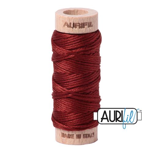 Aurifil Cotton Embroidery Floss, 2355 Rust