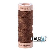 Aurifil Cotton Embroidery Floss, 2372 Dark Antique Gold
