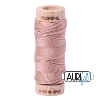 Aurifil Cotton Embroidery Floss, 2375 Antique Blush