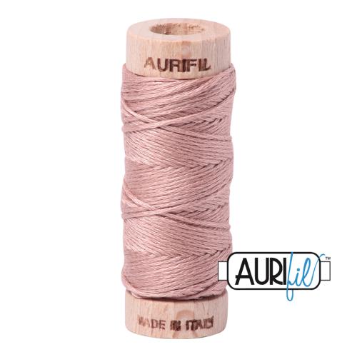 Aurifil Cotton Embroidery Floss, 2375 Antique Blush