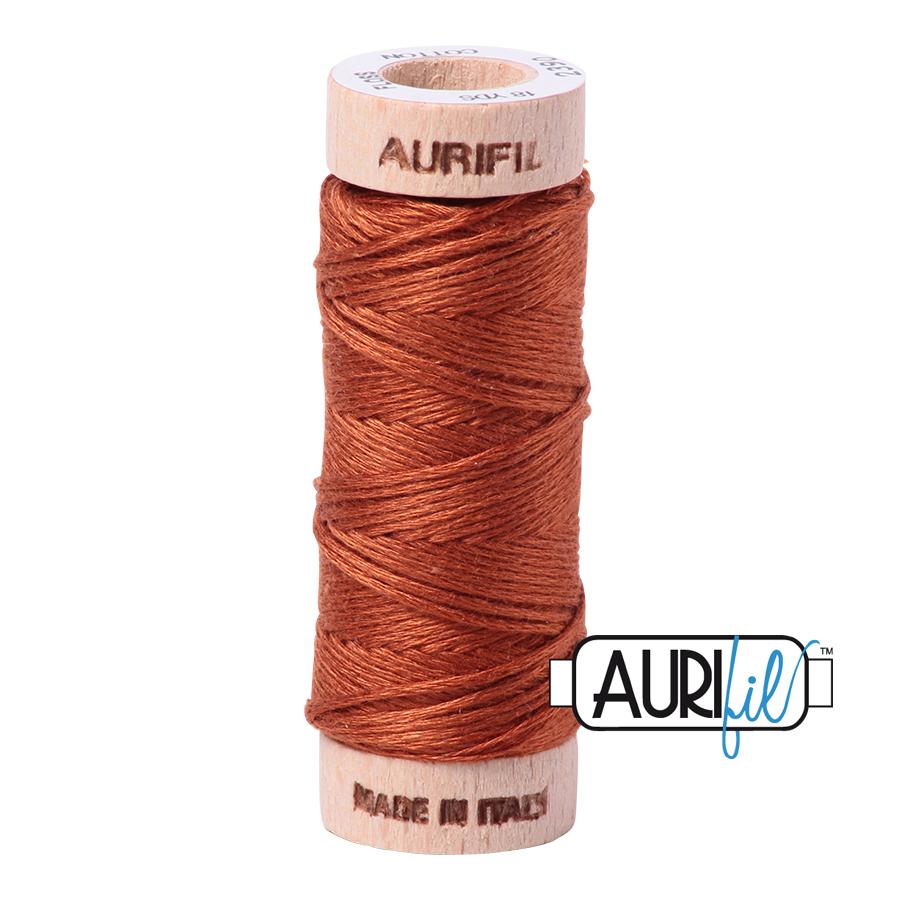 Aurifil Cotton Embroidery Floss, 2390 Cinnamon Toast