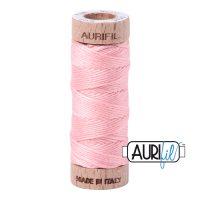 Aurifil Cotton Embroidery Floss, 2415 Blush