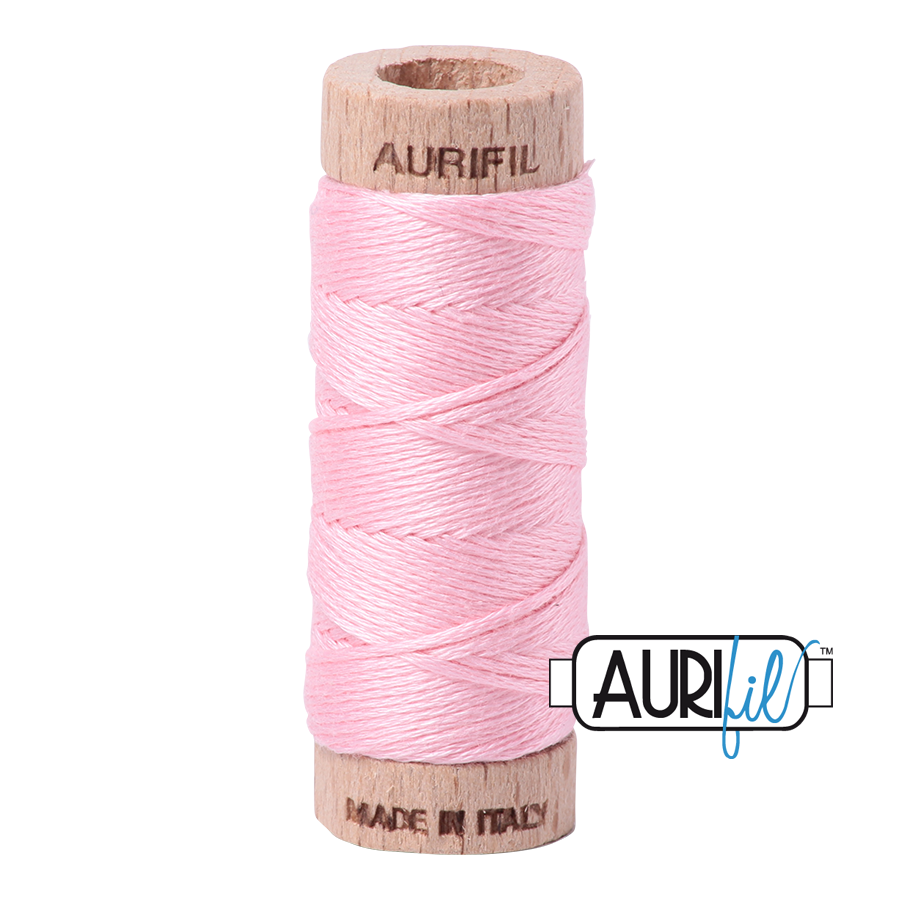 Aurifil Cotton Embroidery Floss, 2423 Baby Pink