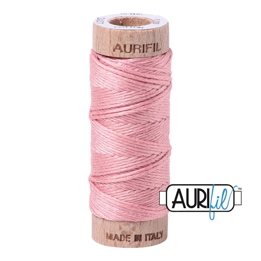 Aurifil Cotton Embroidery Floss, 2437 Light Peony