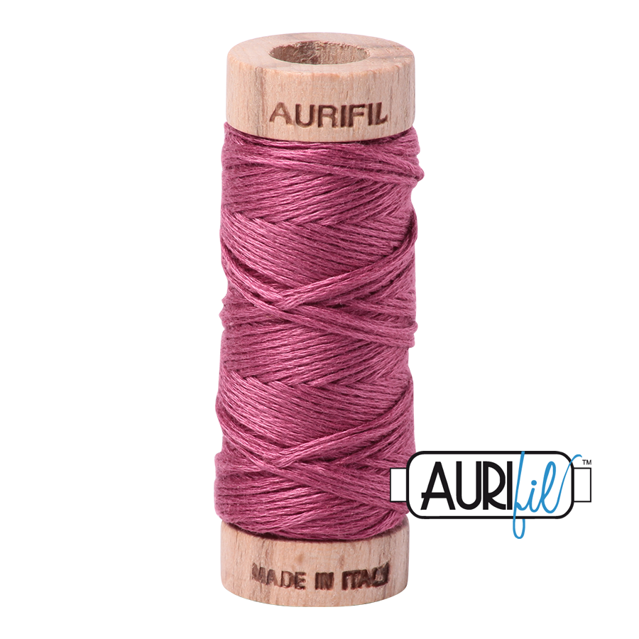 Aurifil Cotton Embroidery Floss, 2450 Rose