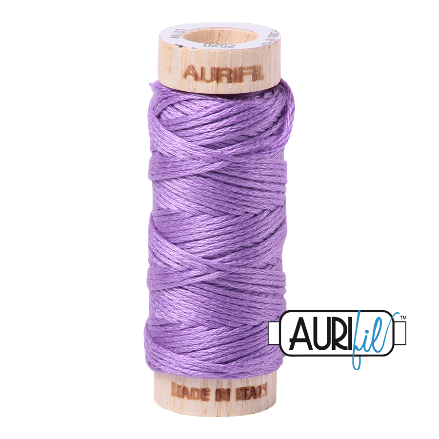 Aurifil Cotton Embroidery Floss, 2520 Violet