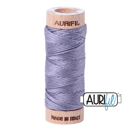 Aurifil Cotton Embroidery Floss, 2524 Grey Violet